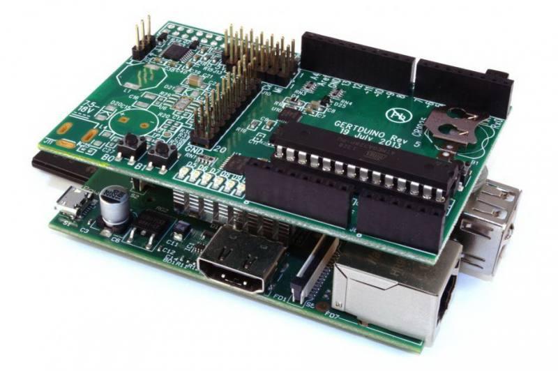 Bridge Shield: for Raspberry Pi, Arduino UNO Arduino